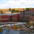 Fall River Scene - Stock Photo