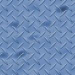 Blue diamond plate — Stock Photo #8804757