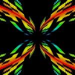 Color Spectrum Vortex — Stock Photo
