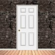 Royalty-Free Stock Photo: Brick Wall Doorway