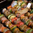 Stock Photo: Shish Kebabs on the Grill
