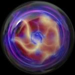 3d Plasma Ball — Stock Photo