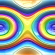 Seamless Rainbow Pattern — Stock Photo
