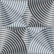 Stock Photo: Shiny Metal Pattern