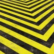 Construction Hazard Stripes — Stock Photo #8806591
