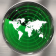 World Radar Screen — Stock Photo #8806823