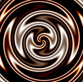Dark Chocolate Swirl — Stock Photo