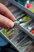 Choosing the Right Fishing Lure — Stock Photo