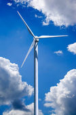Wind Turbine Power Generation — Stock Photo