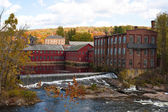 Fall River Scene — Stock Photo