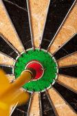 Dart Board Bulls Eye — Stock Photo
