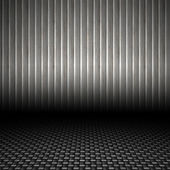 Corrugated Metal Backdrop — Stock Photo