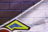 Graffiti Spraypaint — Stock Photo