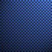 Blue Carbon Fiber — Stock Photo
