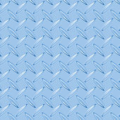 Blue diamond plate — Stock Photo