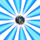 Planet Earth Vortex — Stock Photo