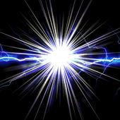 Shocking Lightning Burst — Stock Photo