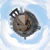 NYC Planet Panorama — Stock Photo