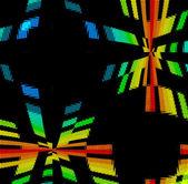 Rainbow Disco Background — Stock Photo