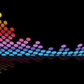 Graphic Equalizer Waveform — Stock Photo