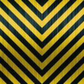 Carbon Fiber Hazard Stripes — Stock Photo