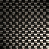 Highly detailed carbon fiber — Stock Photo