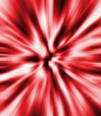Red zoom blur — Stock Photo