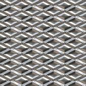 Seamless Diamond Metal — Stock Photo