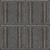 Seamless Metal Tiles — Stock Photo