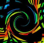 Color Spectrum Swirl — Stock Photo