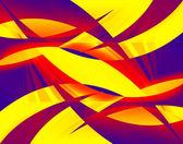 Abstraktní swooshes — Stock fotografie