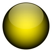 Yellow Orb — Stock Photo