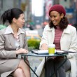 Business Meeting in the City — Stock Photo #8944077