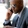 Modern Business Man — Stock Photo