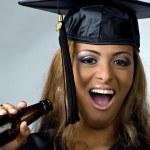 Graduation Partier — Stock Photo