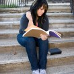 Student Doing Homework — Stock Photo