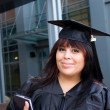 Young Woman Graduate — Stockfoto