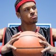 Confident Basketball Player — Stock Photo