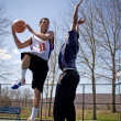 Men Playing Basketball — Stock Photo #8944649
