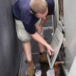 HVAC Worker — Stock Photo #8944756