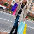 Pretty Girl Shopping - Stock Photo