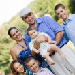 Happy Smiling Family — Stock Photo