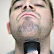 Man Shaving — Stock Photo