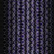 Fancy Purple Curtain Background — Stock Photo #8945340