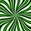 Green Swirly Vortex — Stock Photo #8945365