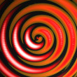 Orange Red Swirl — Stock Photo