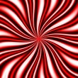 Red Swirly Vortex - Stock Photo