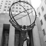 Atlas Statue — Stock Photo