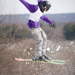 Ski Jumper — Stock Photo