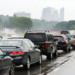 Traffic Jam Congestion - Stock Photo